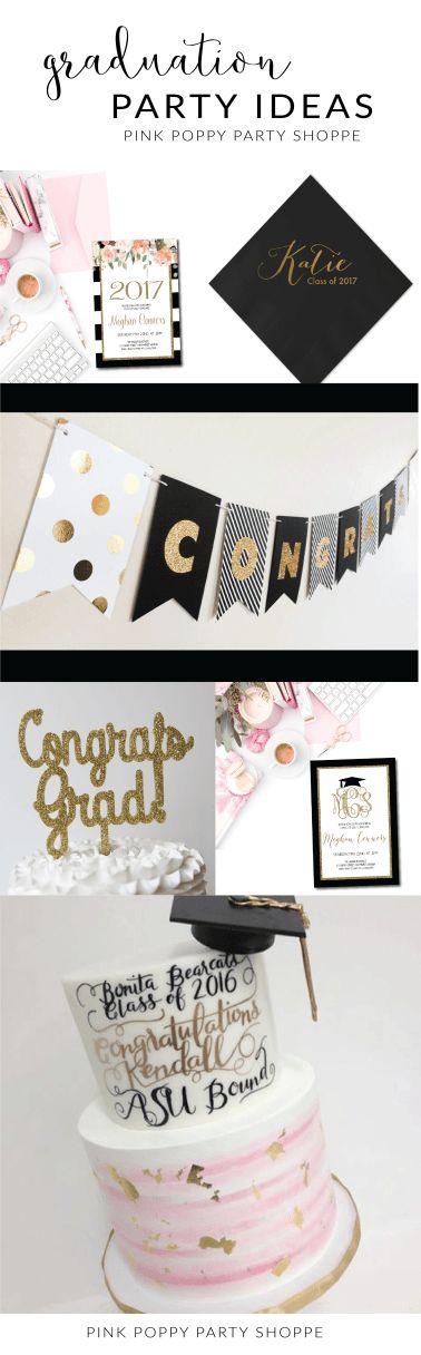 25 Best Ideas About Pink Graduation Party On Pinterest