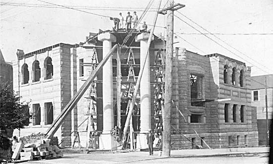 1901- Carnegie Library Construction