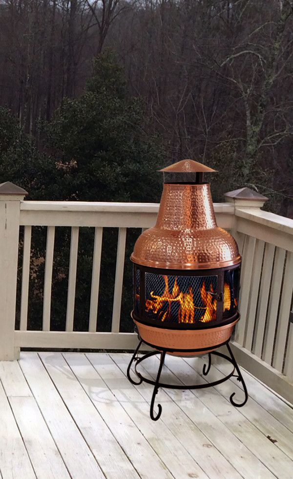 Found it at Wayfair - Cape Chiminea in Hammered Copperhttp://www.wayfair.com/daily-sales/p/Best-Sellers-Sale%3A-Outdoor-Furniture-Cape-Chiminea-in-Hammered-Copper~DEC1177~E13448.html?refid=SBP.DfAbCi2_o0_AF7ujAk69Ayxi_1GlOU4spXrUq9_eScY