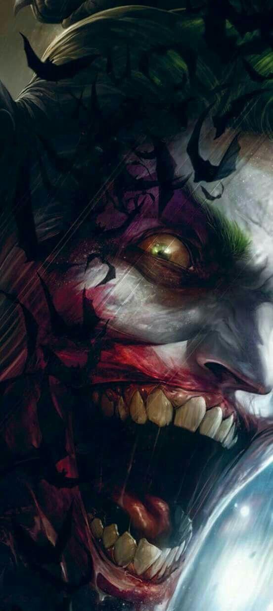 The Joker,a different villain