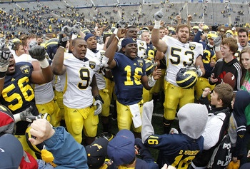 Michigan football players.