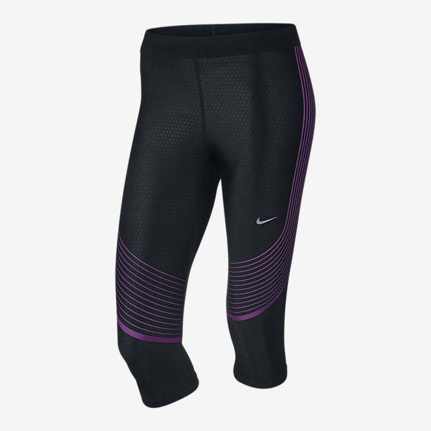 Женские капри для бега Nike Power Speed