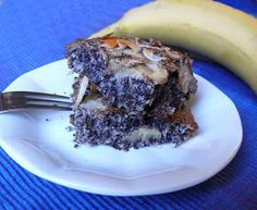 Vöröskaktusz diétázik: Mákos banános pite (paleo)
