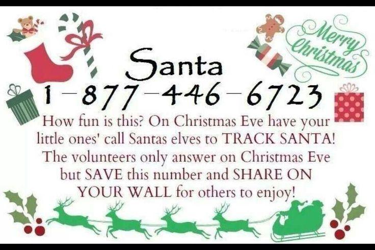 Santa phone number