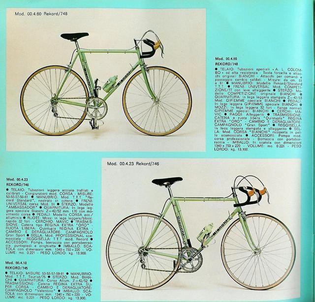 identificazione bianchi anni 70 - Pagina 2 - Bici da corsa | BDC-forum.it