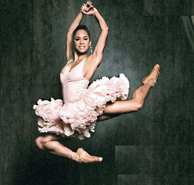 Misty Copeland. First African American dancer in the ABT in 20 years. She also started dancing at 13 years old.