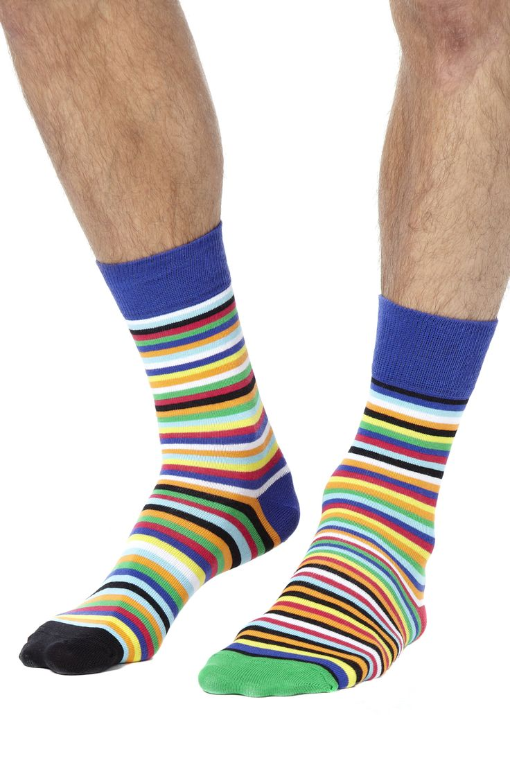 Sock Exchange Weekend £15.00 Six colourful odd socks designed specially to get your feet in the party mood. Gift boxed. 80% cotton/19% polyamide/1% elastane. Don't waste time to make up matching pairs of socks out of the wash. Embrace the freedom (and fun) of our brightly coloured odd socks - which combination will you go for today? Fits UK sizes 6-11. Machine washable.