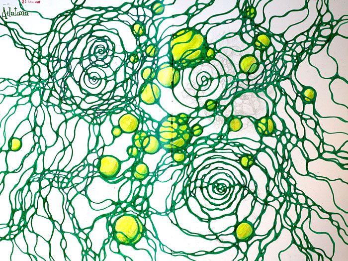 Рисовала по вебинару Аллы Номеровой. Первый рисунок по этому алгоритму получился очень сжатый, поэтому продолжила рисовать кейс. Вторую к...