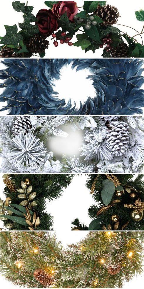 22 stunning Christmas wreaths for the festive