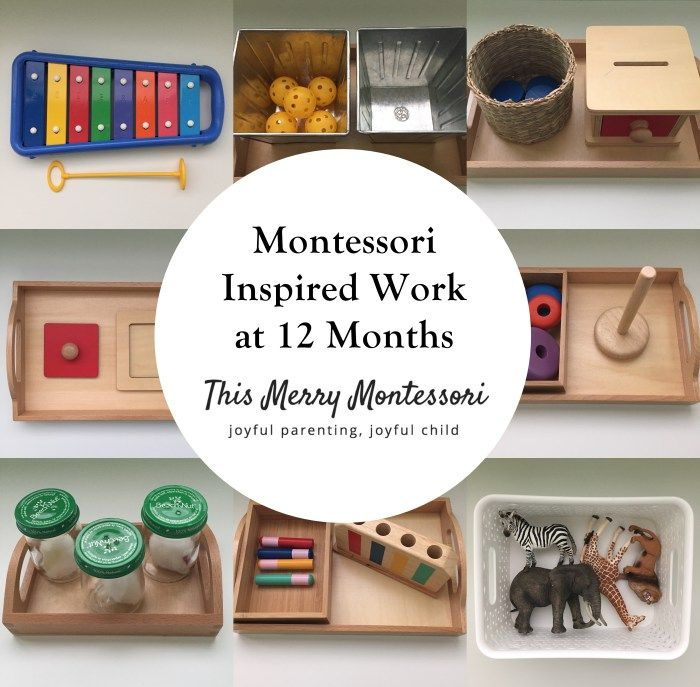Montessori Inspired Work at 12 Months--TMM