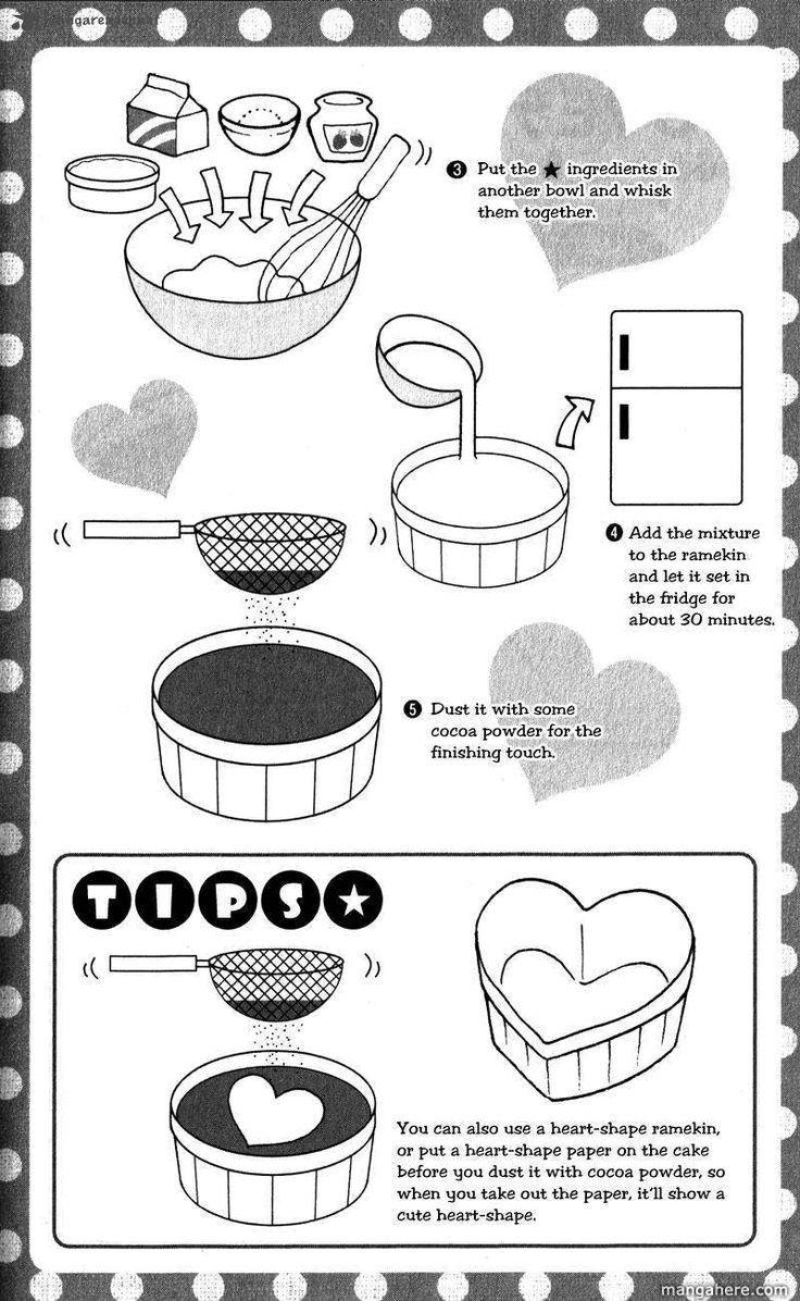 Strawberry Tiramisu recipe part 2 - Hatsukoi Lunch Box by Kodaka Nao