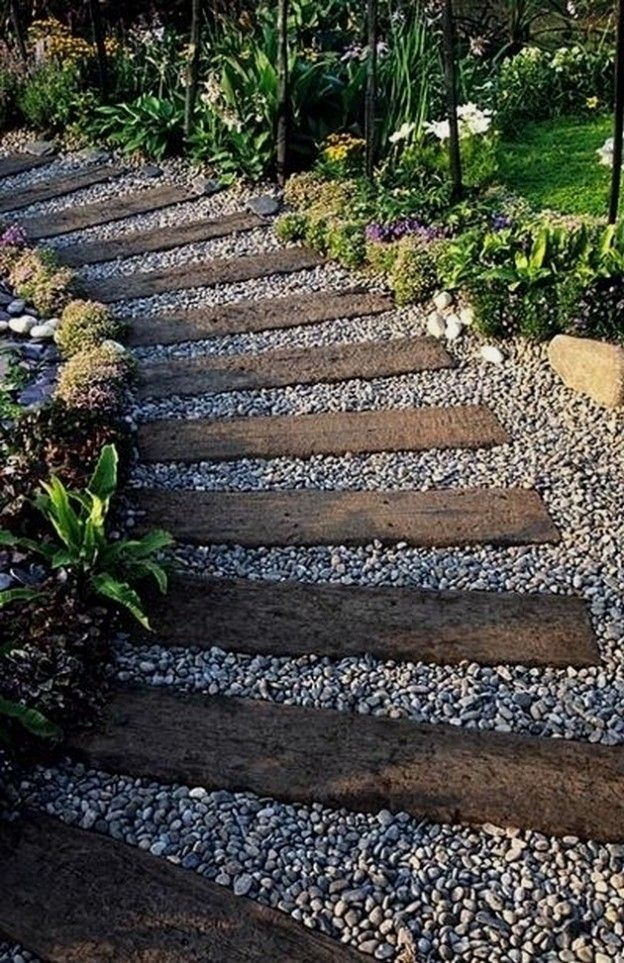 29 Creative Diy Garden Path Ideas You Can Create To Complement Your