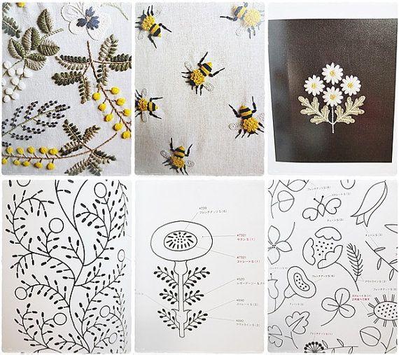 Japanese Hand Embroidery Craft book Wool by KawaiiSakuraHandmade
