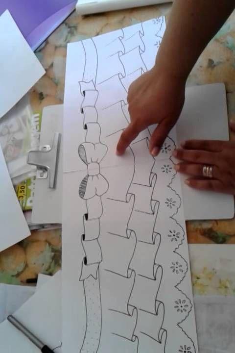 Como fazer desenhos para imitar dobras de tecidos