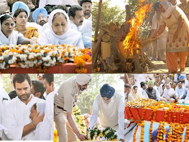 Slideshow : Sarabjit Singh cremated, thousands pay final respect - Sarabjit Singh cremated, thousands pay final respect - The Economic Times