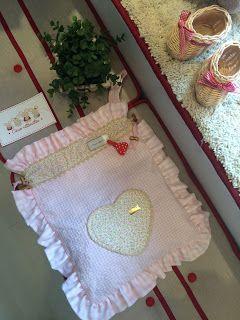 Caperucita Roja: Bolsa con corazón!!