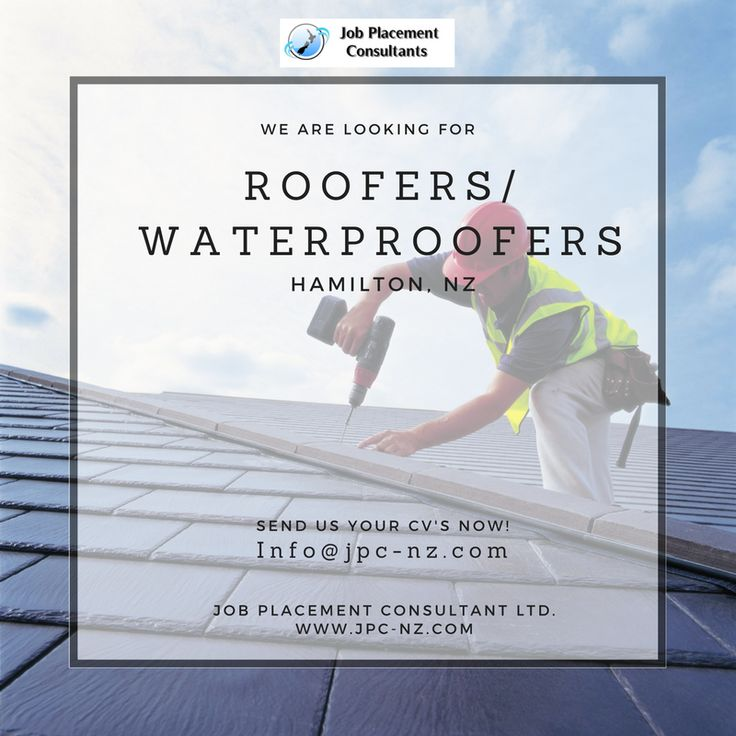 Our well established clients, are looking to employ experienced roofers to install Commercial/Residential long run roof & wall cladding & membrane roofing products. Hamilton clients has a permanent need in waterproofing membrane installation professionals. If you are a qualified or experienced metal roofer with a great work ethic then this could be just the role for you!