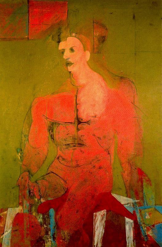Виллем де Кунинг «Сидящая фигура»
