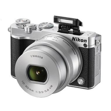 Jual Rp 4,609,000 Nikon 1 J5 Kit 10-30mm Kamera Mirrorless - Silver [23 MP]