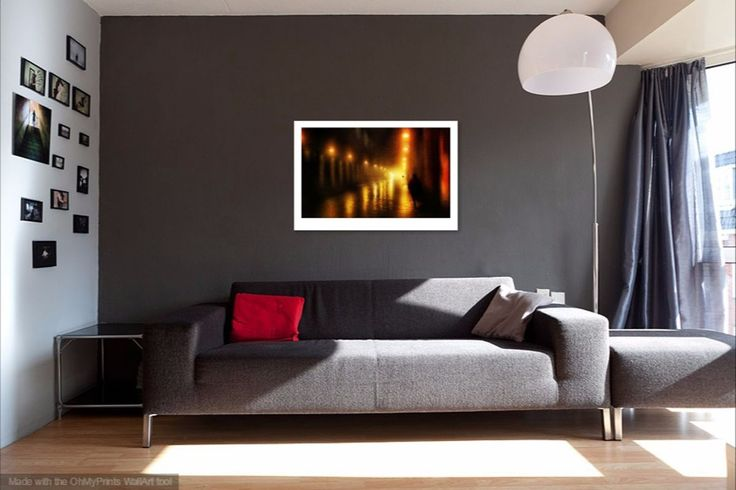 Back to the Past. Alley of Lights (Ltd Edition of only 3 Fine Art Giclee prints from an original photograph) by Jenny Rainbow Fine Art Photography.  Ltd Edition of only 3 Fine Art Giclee prints f...