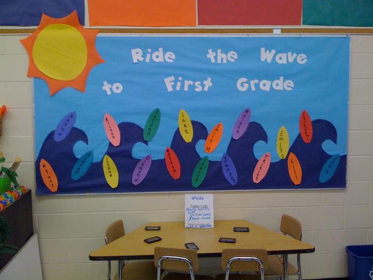 surf bulletin board