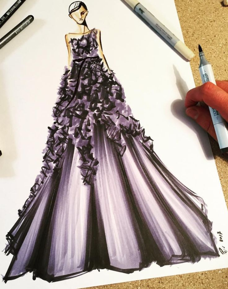 @marchesafashion Fall 2017 -#NYFashionWeek by @pepemunozillustrations  Be Inspirational ❥ Mz. Manerz: Being well dressed is a beautiful form of confidence, happiness & politeness