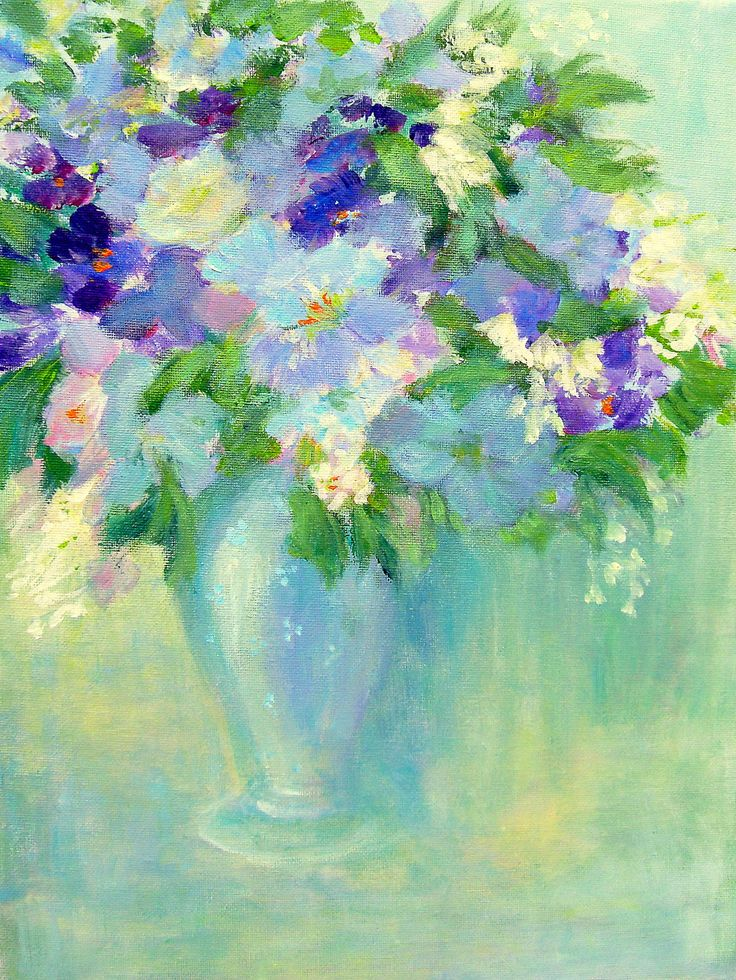 View FLOWERS in a Vase by Aase Lind. Browse more art for sale at great prices…