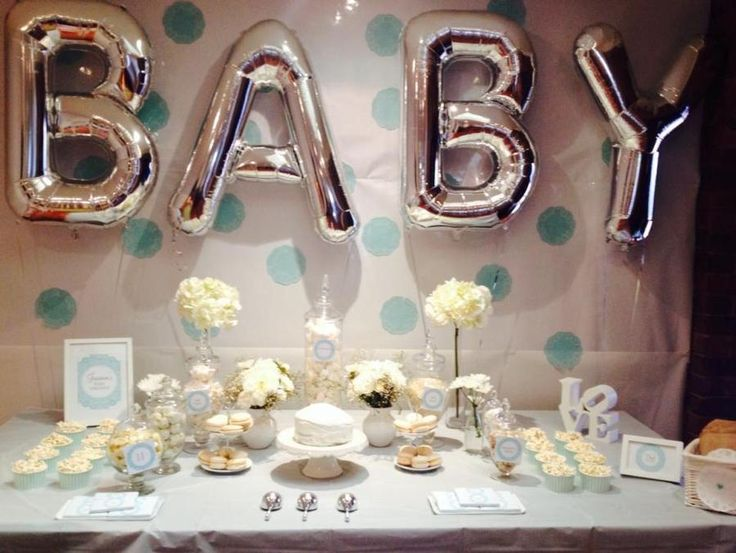 what a great idea from our friends in northstar balloons for a baby shower