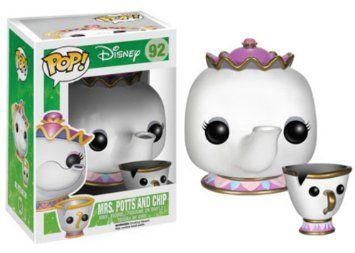 Funko - POP Disney - Beauty and Beast - Mrs. Potts Chip