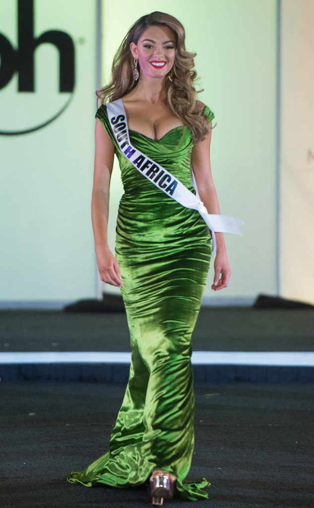 Miss South Africa, 2017 Miss Universe, Evening Gown Preliminary Competition