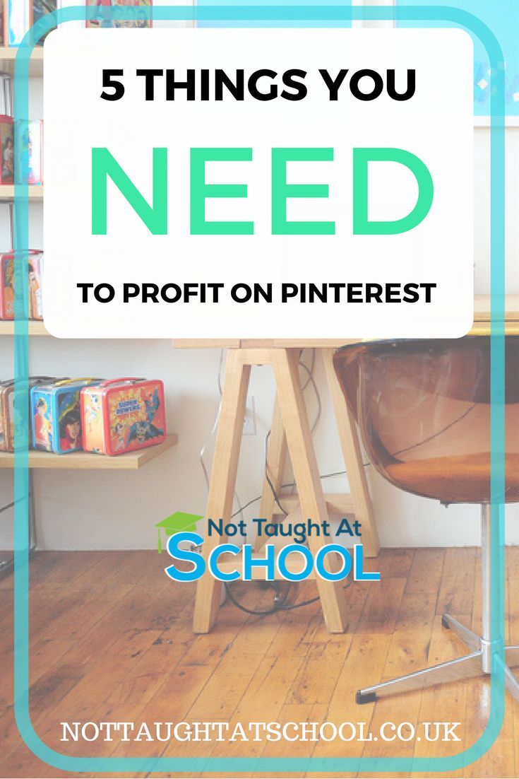 In this post i will share with you the 5 Things You Need To Profit On Pinterest. Pinterest is fast becoming the best place online to get views on your website, click here for a step by step guide.