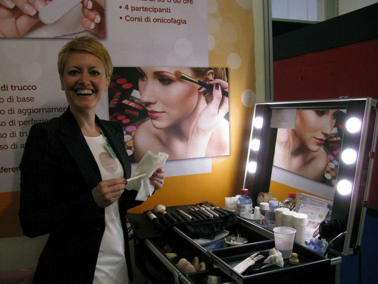 From Switzerland, Lugano! Thanks to a very Cantoni Make Up Artist Tetyana Urio: sunny and always professional!