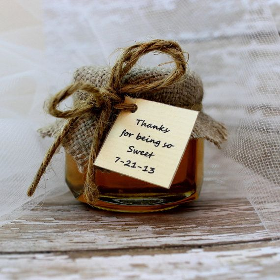 SET OF 12 Rustic Chic pure raw honey wedding by EcohausProject, $30.00