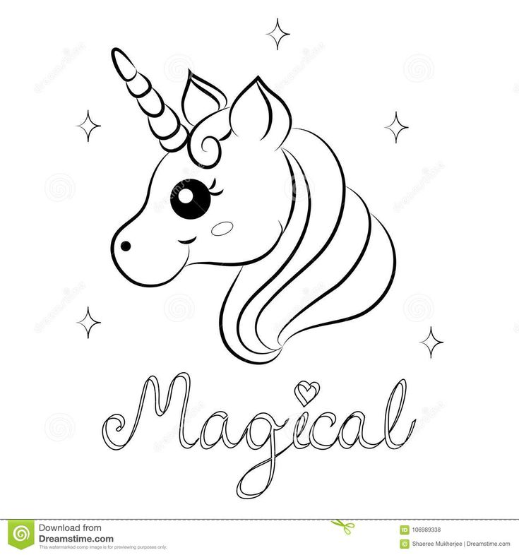 Pin By Angga Ga On Wall Art Unicorn Coloring Pages