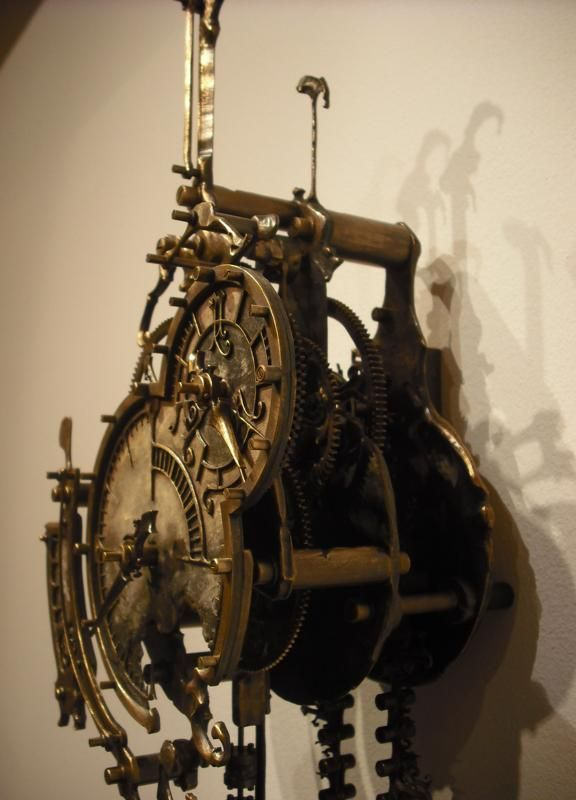Oxford steampunk clock