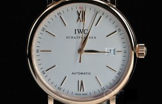 montre luxe collection: montre IWC Portofino IW356504 Automatique Homme