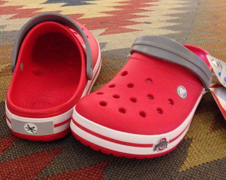 Sweet Ohio State Crocs! Crocs, Ohio state, Ohio