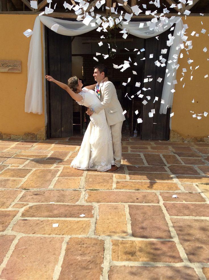 Felizmente Enamorados Marcela & Mauricio