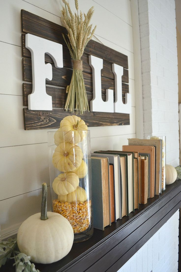 top 25 best fall mantels ideas on pinterest fall fireplace