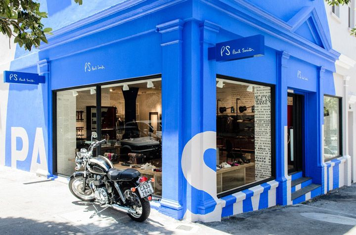 Paul Smith store by Paul Smith, Cape Town store design