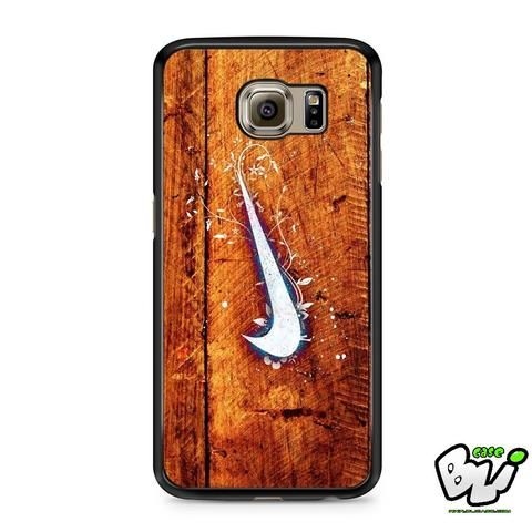 Nike Wood Texture Samsung Galaxy S7 Case
