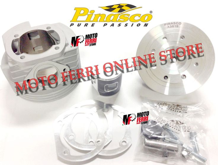 MF0293 - KIT CILINDRO MOTORE 144 DM 60 PINASCO RR ZUERA BIG BORE VESPA 125 ET3- | eBay