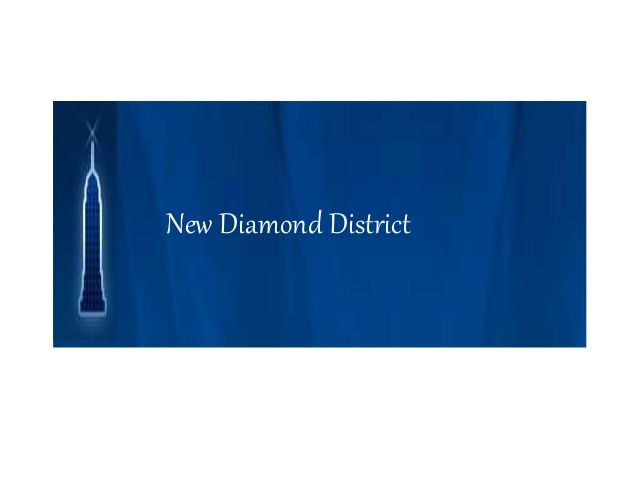 New Diamond District presents this Exclusive and Unique Diamond Ring.