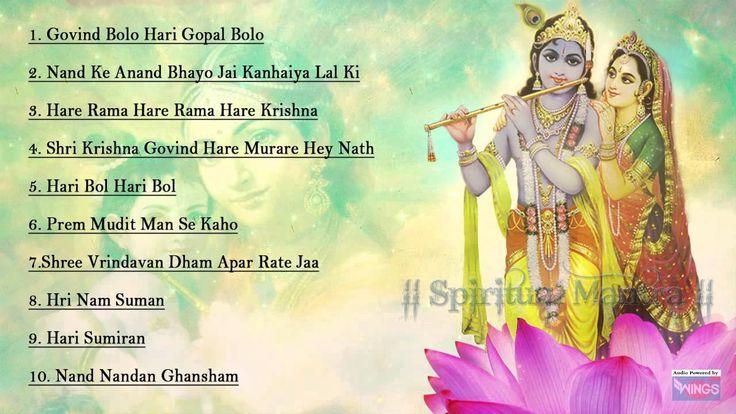 Top Krishna Bhajan - Govind Bolo - Hare Ram Hare Krishna - Shri Krishna ...