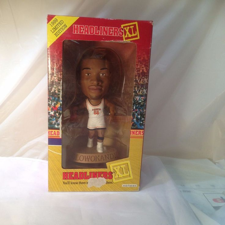 Michael Olowokandi Headliners XL Figure 1999 Limited Edition #Headliners #Pacific