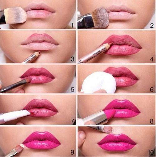 MakeupDramaticsLips Gloss, Make Up, Makeup Lips, Beautiful, Pink Lips, Lipsticks Tutorials, Lips Makeup, Makeup Contouring, Lips Colors