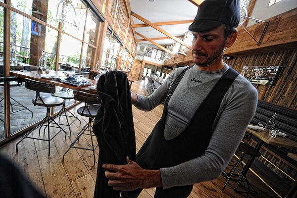 Isadore - 100% Merino Long Sleeve Baselayer Grey #cyclingmemories