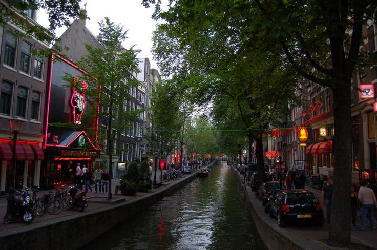 Tour the Red Light District #amsterdam #travel