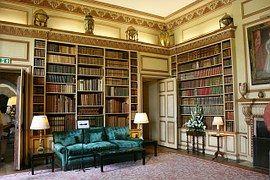 Библиотека, Книги, Замок Лидс