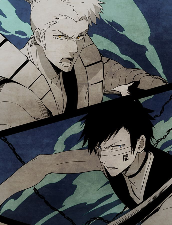 Captain and Lieutenant. I'm glad they filled in the missing captains after Aizen decided to leave Seiretei and do some creepy shit in Hueco Mundo  #bleach